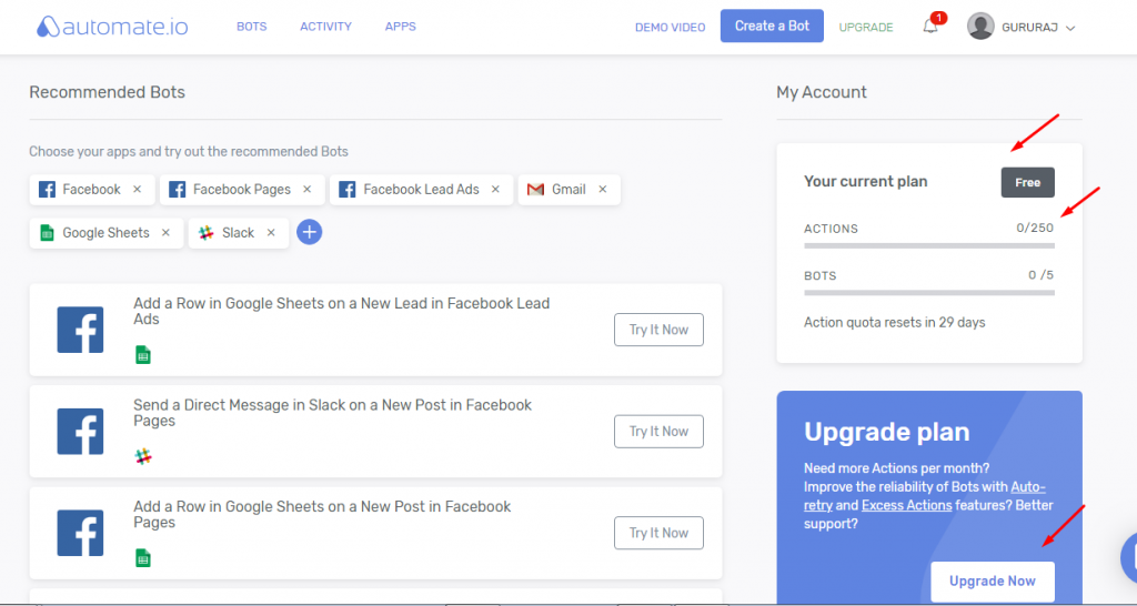 Facebook lead ads to Google sheet integration